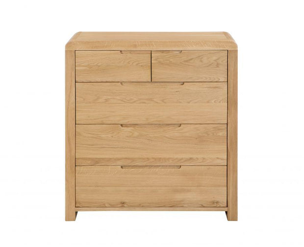 Carter 3+2 Drawer Chest Of Drawers