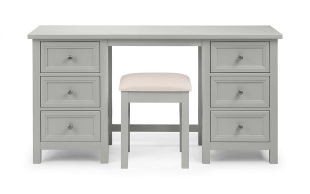 Mandy Dressing Stool - Dove Grey