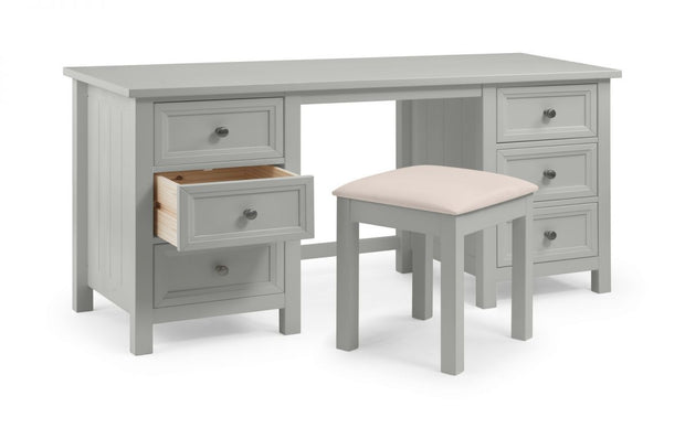 Mandy Dressing Table - Dove Grey