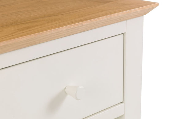 Salerno 2-Tone 1 Drawer Bedside Table