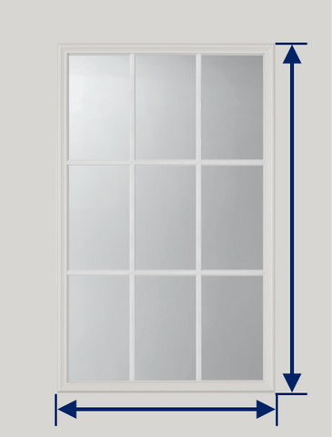How to Measure Door Glass Width and Height for Replacement Frames