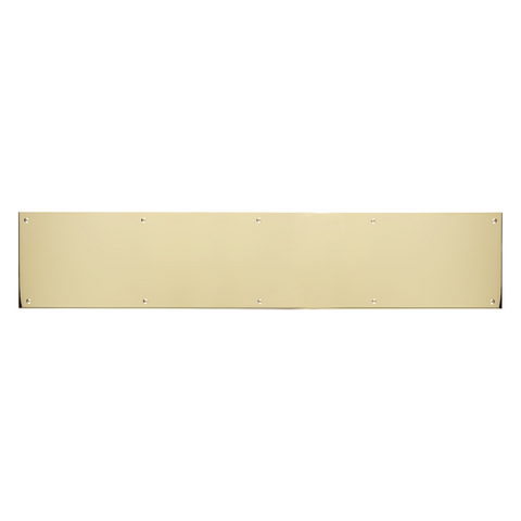 Polished Brass Kick Plate