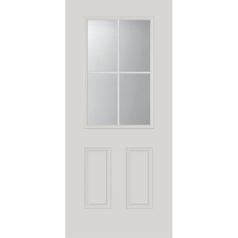 "Clear 4 Lite Glass and Frame Kit (Half Lite 22"" x 36"" Glass Size)"