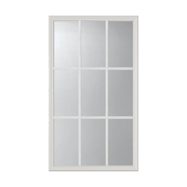 "Clear 9 Lite Glass and Frame Kit (Half Lite 22"" x 36"" Glass Size)"