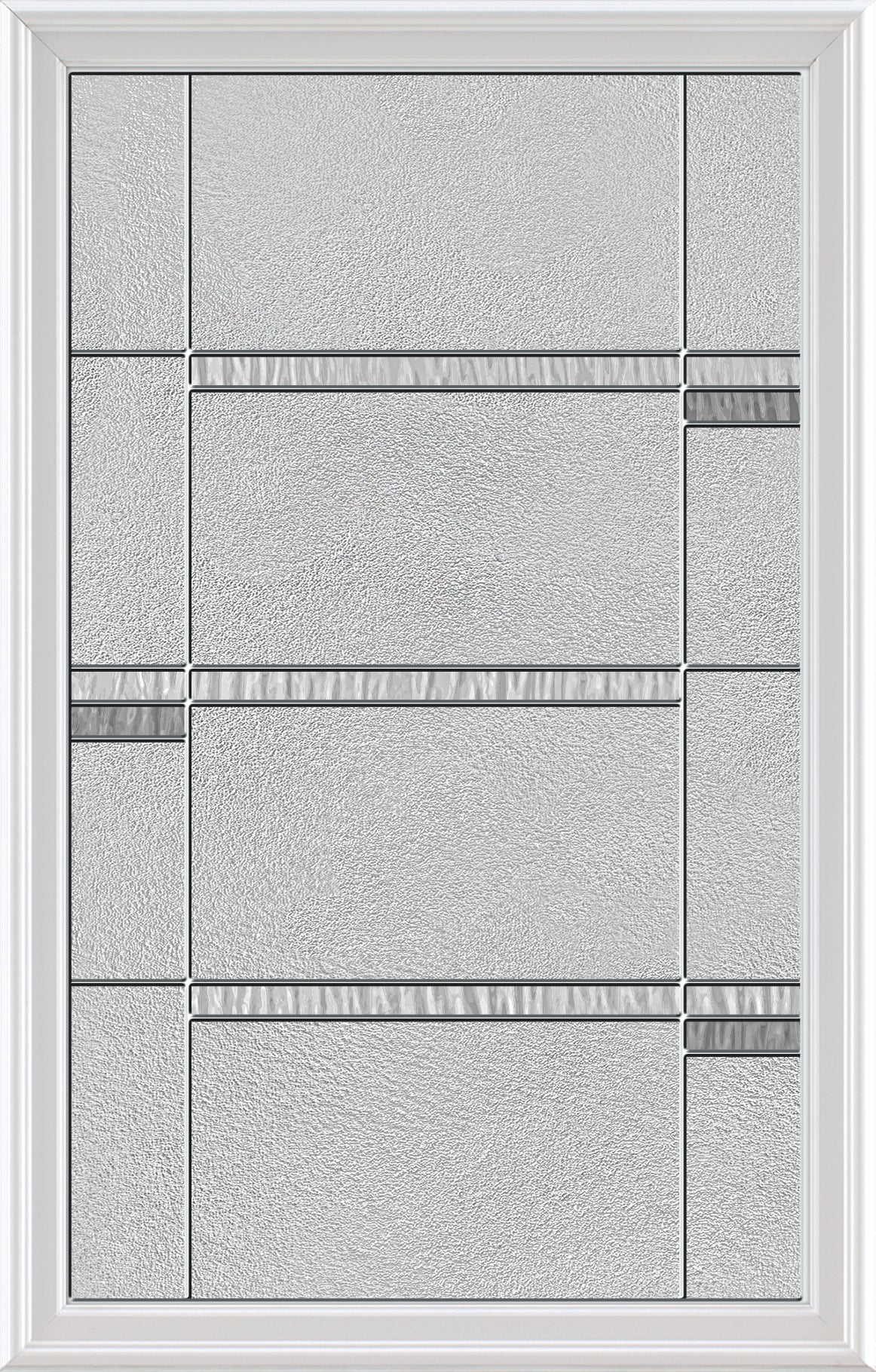 "Urban Glass and Frame Kit (Half Lite 22"" x 36"" Glass Size)"