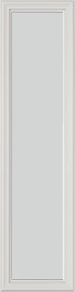 "Frost Glass and Frame Kit (Half Sidelite 8"" x 36"" Glass Size)"