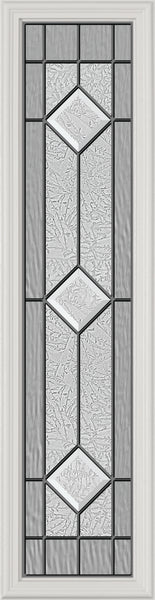 "Stratford Glass and Frame Kit (Half Sidelite 8"" x 36"" Glass Size)"