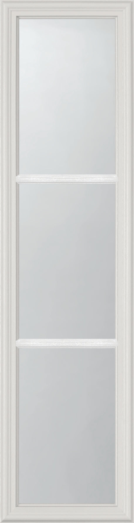 "Clear 3 Lite Glass and Frame Kit (Half Sidelite 8"" x 36"" Glass Size)"