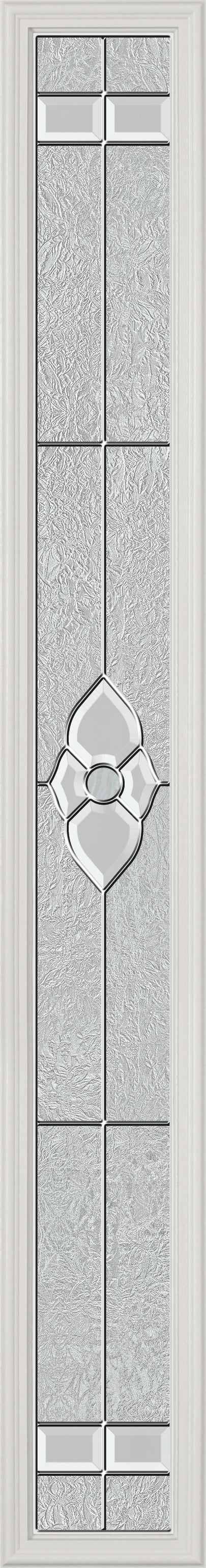 "Normandy Glass and Frame Kit (Full Sidelite 7"" x 64"" Glass Size)"