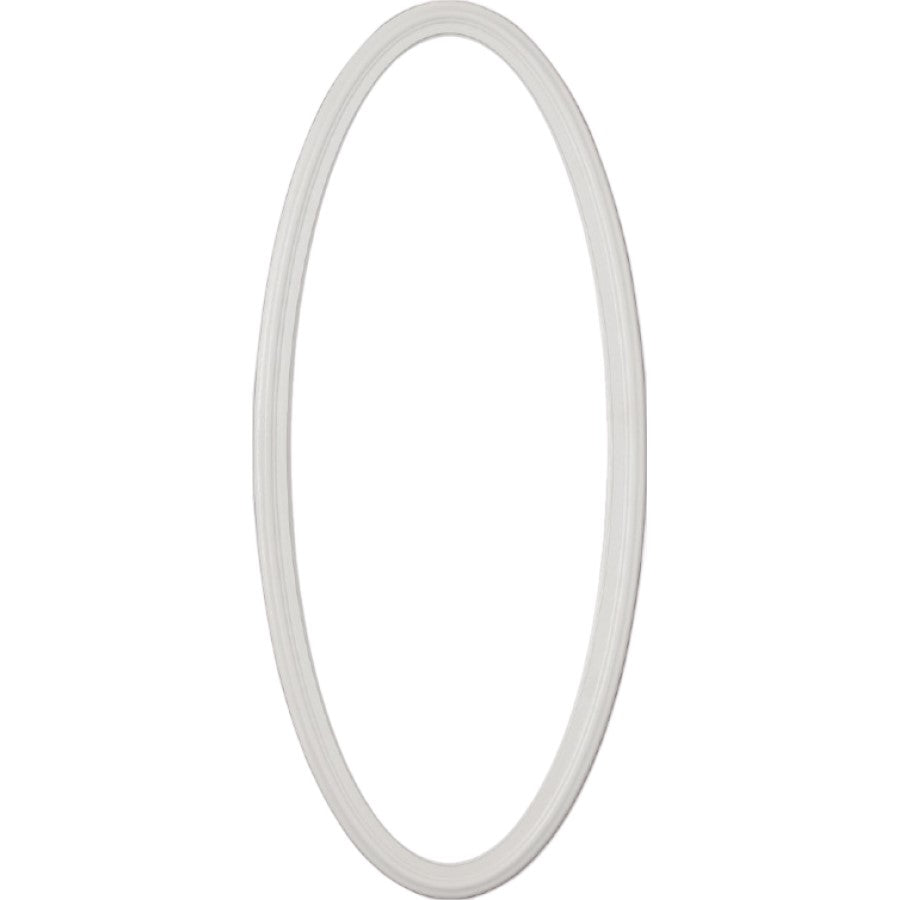 "Large Oval 22.5"" x 58.5"" Frame Kit for 1"" Glass"