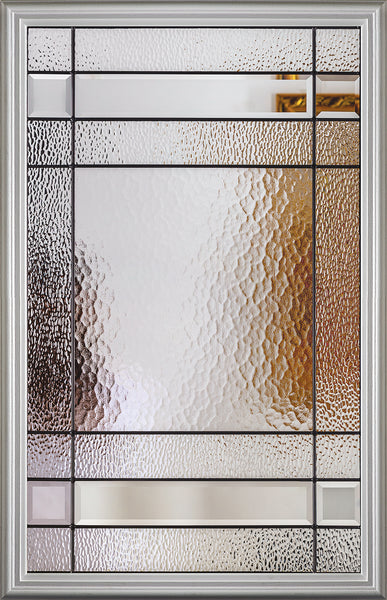 "Connecticut Glass and Frame Kit (Half Lite 22"" x 36"" Glass Size)"