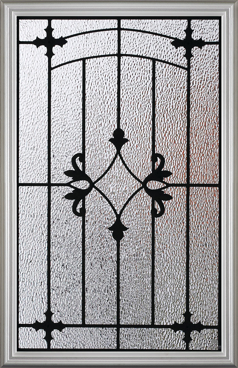 "Charleston Glass and Frame Kit (Half Lite 22"" x 36"" Glass Size)"