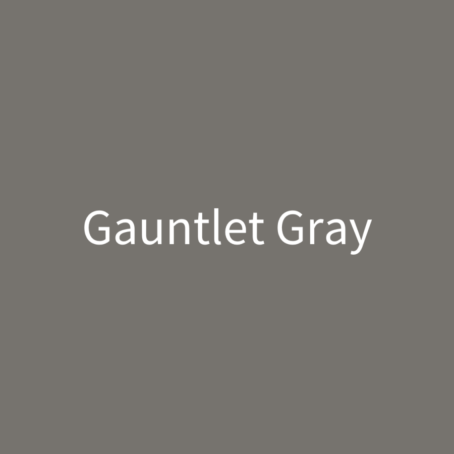 Gauntlet Gray Door Paint (1 Quart)