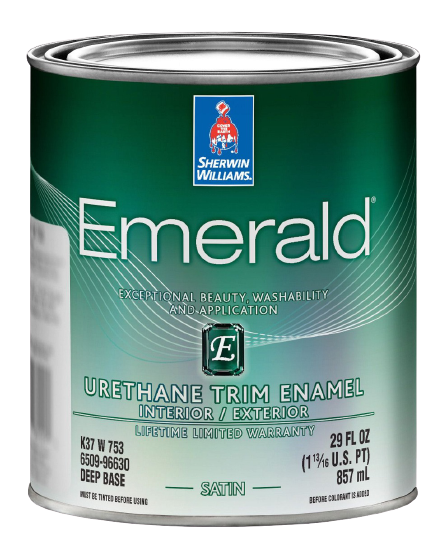 Greenblack Door Paint (1 Quart)