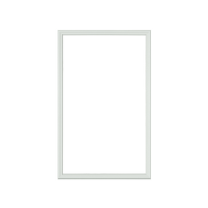 "Half Lite 24"" x 38"" Frame Kit for 1"" Glass"