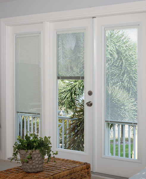 "Tilt Blinds Glass and Frame Kit (Full Sidelite 7"" x 64"" Glass Size)"