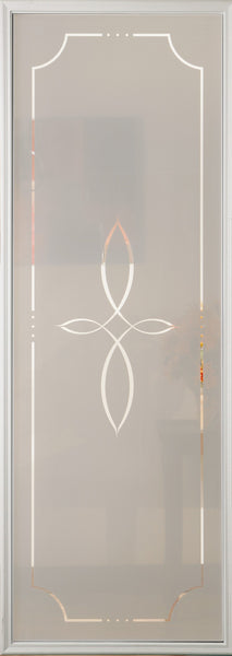 "Salem Glass and Frame Kit (Half Sidelite 8"" x 36"" Glass Size)"