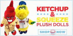 KETCHUP & SQUEEZE PLUSH DOLLS