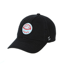 CHICAGO DOGS ZEPHYR BEACON CIRCLE LOGO ADJUSTABLE CAP - Chicago Dogs Team Store