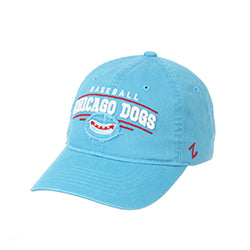 CHICAGO DOGS ZEPHYR COLLEGIAN BASEBALL LOGO CAP