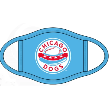 CHICAGO DOGS FACE MASK - Chicago Dogs Team Store