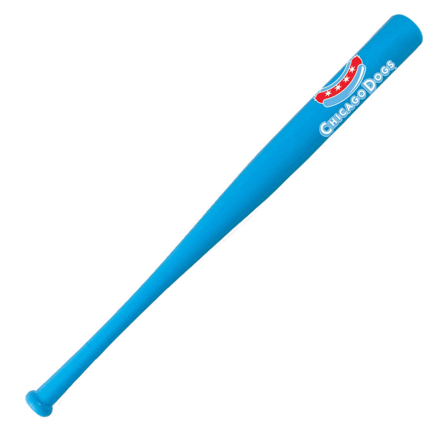 "Chicago Dogs Coopersburg Hardwood 18"" Mini Bat - Light Blue"