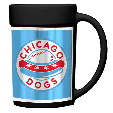 Chicago Dogs Ceramic Coffee Mug - Black