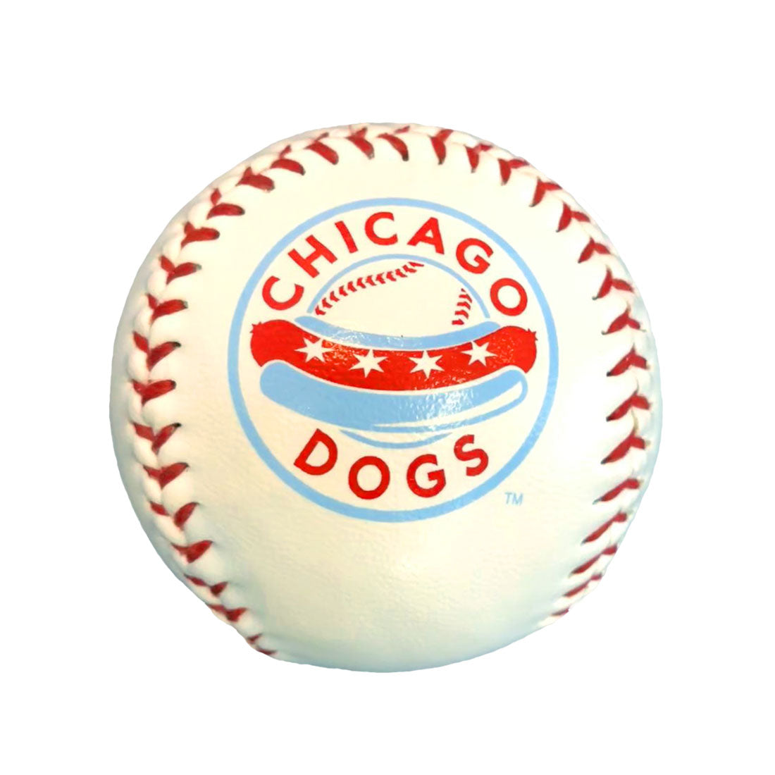 Chicago Dogs Rawlings Team Logo Baseball - Chicago Dogs Team Store