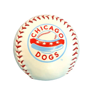 Chicago Dogs Rawlings Team Logo Baseball