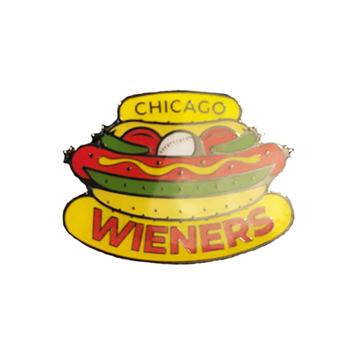 Chicago Dogs Aminco Chicago Wieners Logo Pin - Chicago Dogs Team Store
