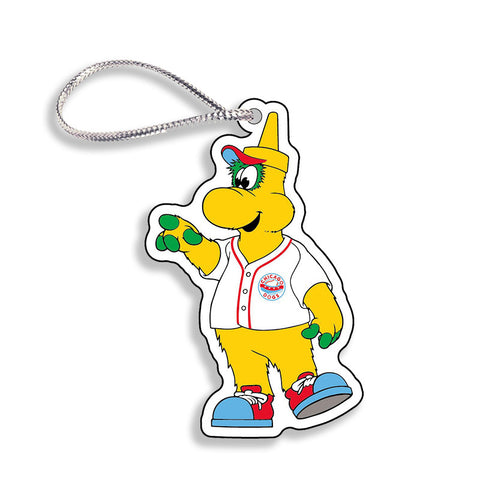Chicago Dogs WinCraft 3-inch Squeeze Mascot Acrylic Holiday Ornament