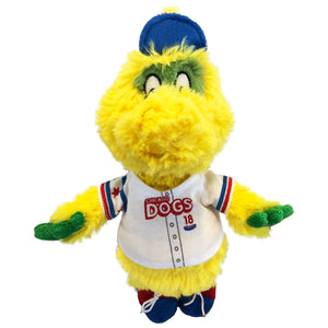 Chicago Dogs Squeeze Mascot Plush - Chicago Dogs Team Store