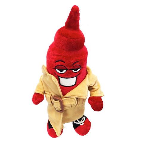 Chicago Dogs Ketchup Mascot Plush