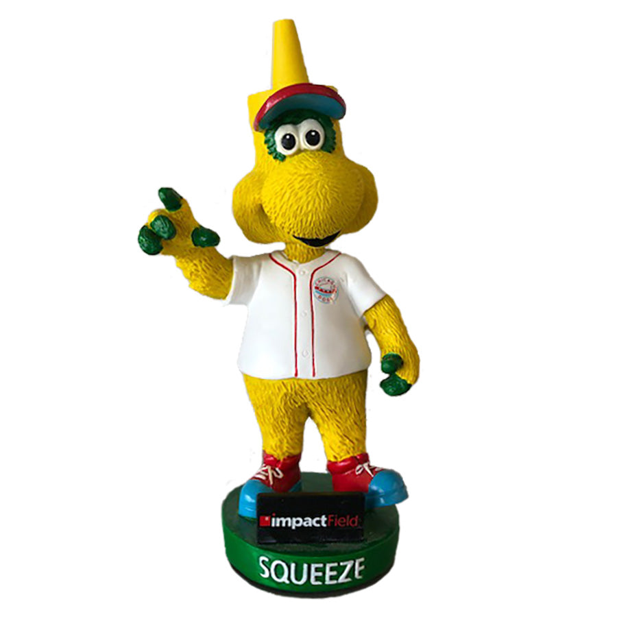 Chicago Dogs Squeeze Mascot Bobble Head