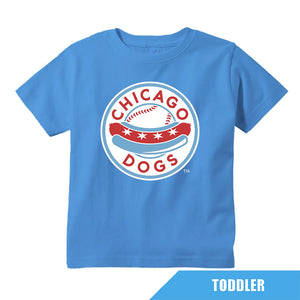 Chicago Dogs Outerstuff Toddler Primary Logo Tee - Sky Blue