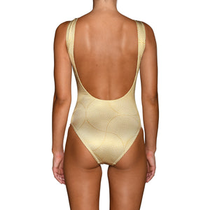 Gold Mosaic Swimsuit