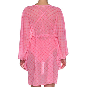 Pink Shell Mini Kaftan