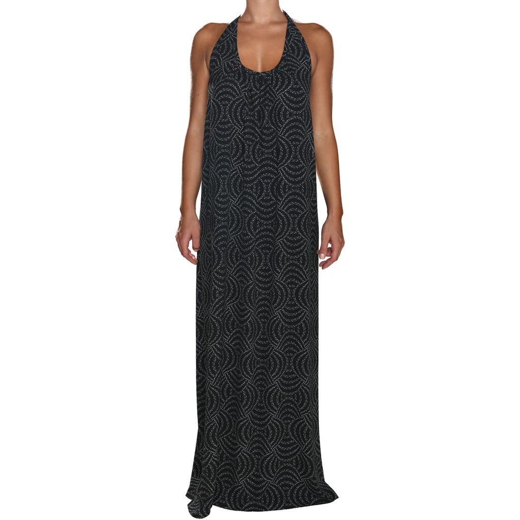Black Pearls Maxi Dress