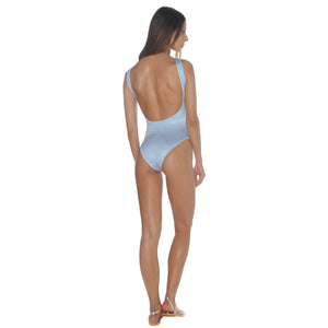 Grecian Blue Swimsuit