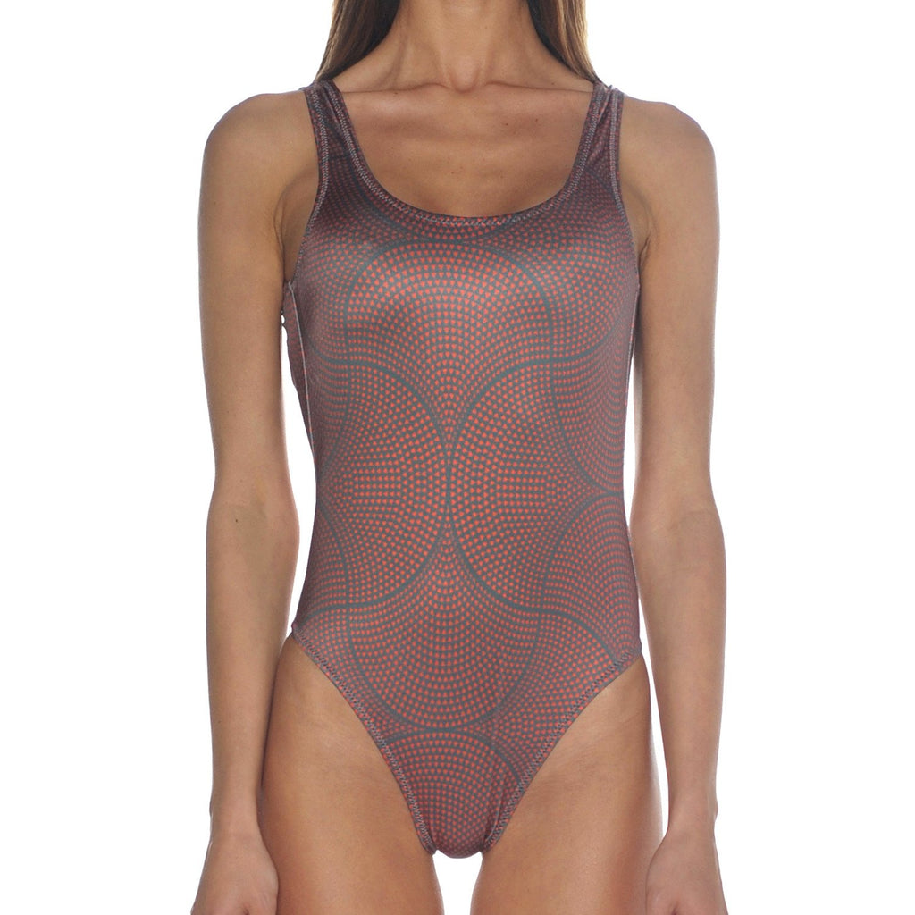 Mosaic Terracotta Swimsuit