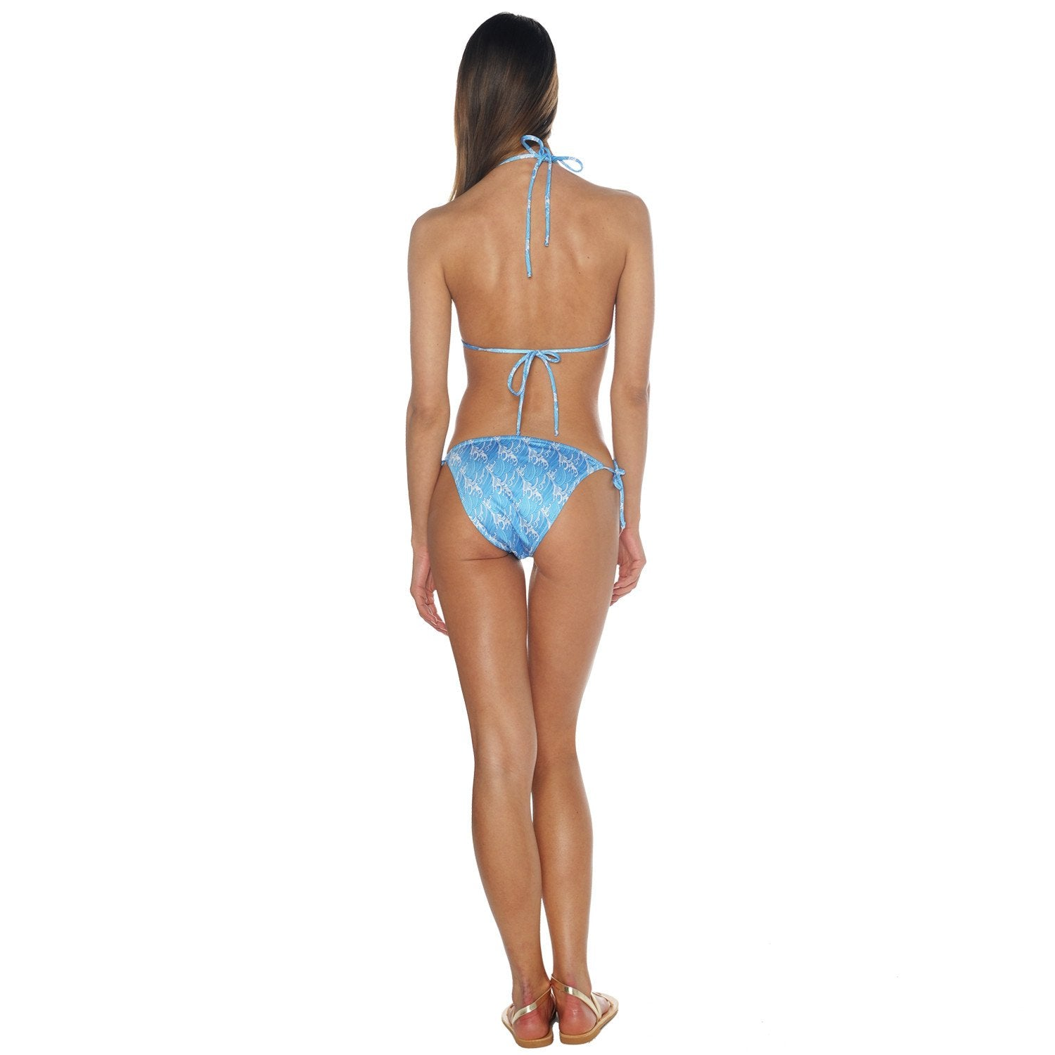 Waves Tie Side Bikini