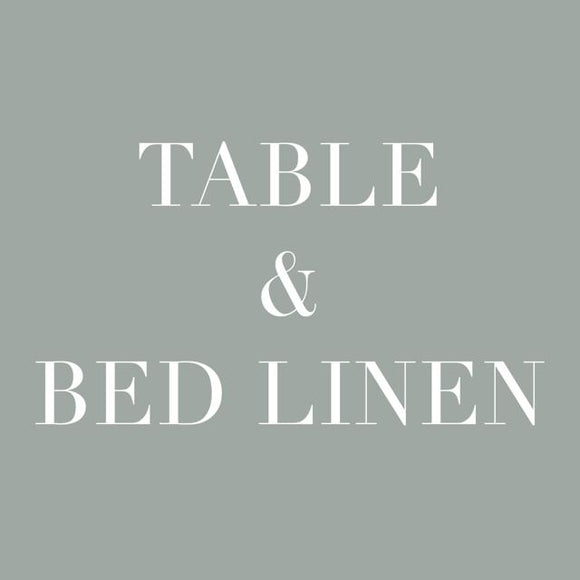Table & Bed Linen