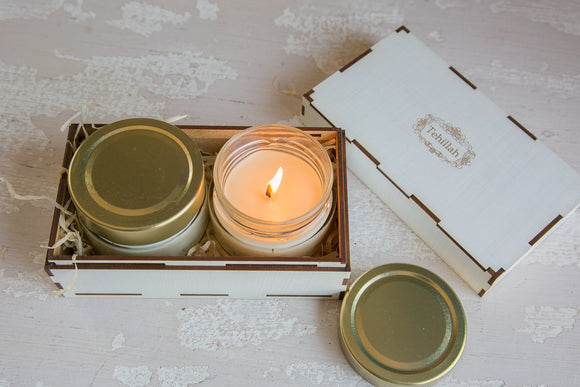Gift Box with Massage Candles 2