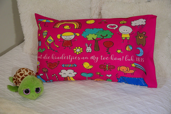 Kids art Pillow Case