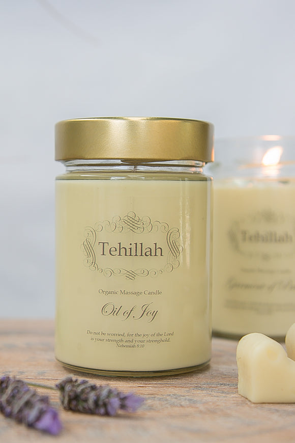 Oil of Joy Massage Candles