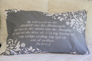 Psalm 91 Lace pillow case