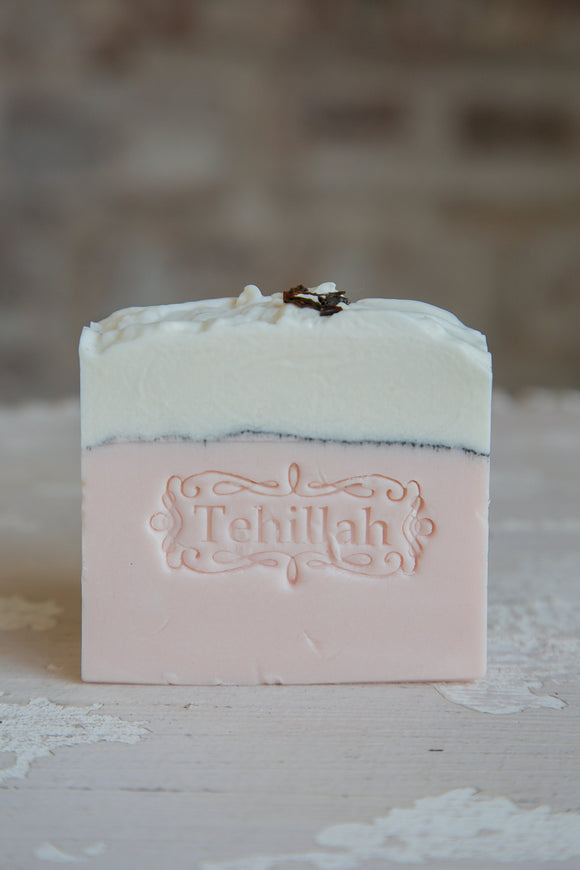 Organic Creamy Rose Clay Soap