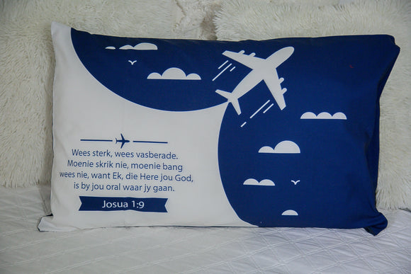 Aeroplane Pillow Case