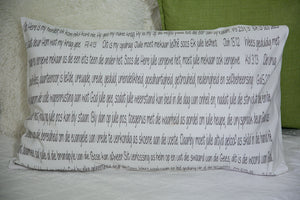Scripture Pillow Case