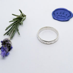 Ani Ledodi (My Beloved) Ring 4mm
